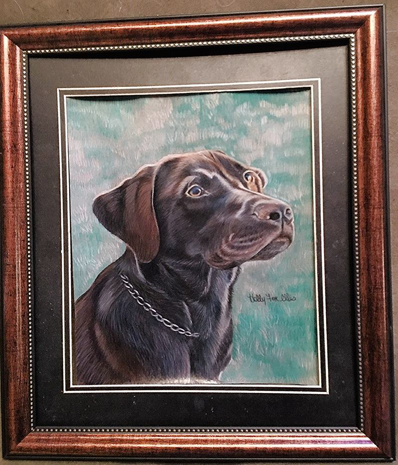 Painting of Shelby